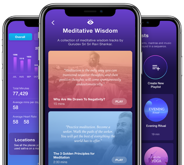 Meditative Wisdom and more from the Sattva app.